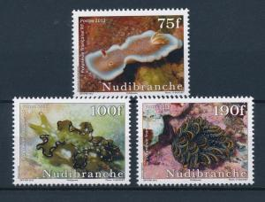 [37841] French Polynesia 2012 Marine life Nudibranches MNH