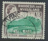 Rhodesia & Nyasaland SG 26 Sc# 166  Used