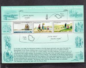 NORFOLK ISLAND 279a SOUVENIR SHEET MNH 2019 SCOTT CATALOGUE VALUE $1.50