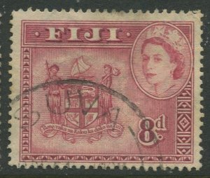 STAMP STATION PERTH Fiji #155 QEII Definitive Issue Used 1954 CV$1.60