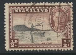 Nyasaland SG 144  SC# 68   Used  see details