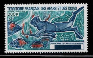 Afars and Issas Scott C97 MNH** Spear Fisherman
