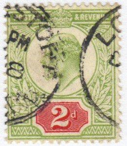 Great Britain #130 used - 2p king