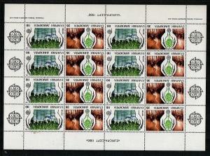 Greece Scott 1569a Mint NH sheet (Catalog Value $72.00)