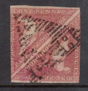 Cape Of Good Hope #3 Used Pair With Great Cancel