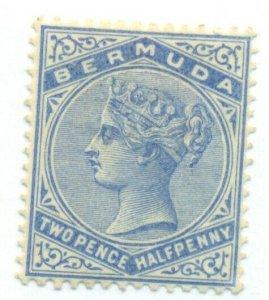 BERMUDA #22, Mint Hinged, Scott $24.00