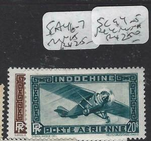 INDOCHINA  (PP1204B)  Y &T A 46-7   MNH