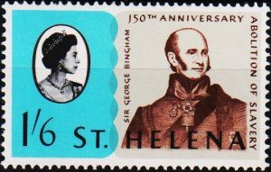 St.Helena. 1968 1s6d S.G.224 Unmounted Mint