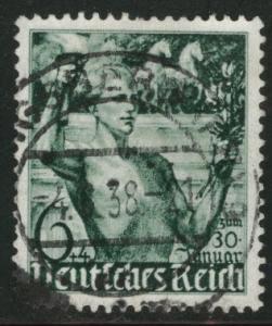 Germany Scott B116 used 1938 semi-postal