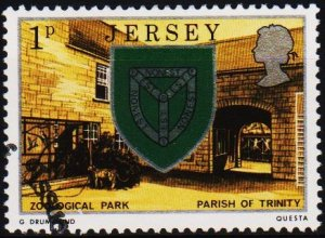 Jersey. 1976 1p S.G.138 Fine Used