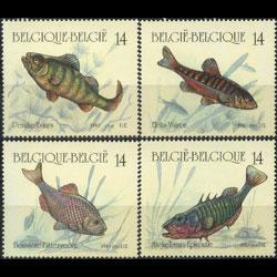 Belgium MNH 1383-6 Fish Marine Life 1990