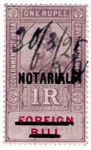 (I.B) India Revenue : Notarial 1R (1923)