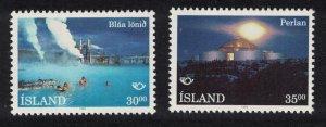 Iceland Tourism Geysers 2v SG#806-807