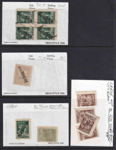 GEORGIA SALES CARD COLLECTION LOT OVER $200 RETAIL SOME OG NH U/M RUSSIA