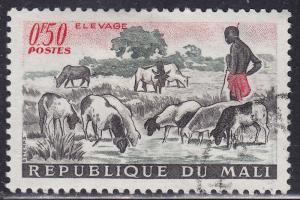 Mali 16 CTO 1961 Herding Sheep