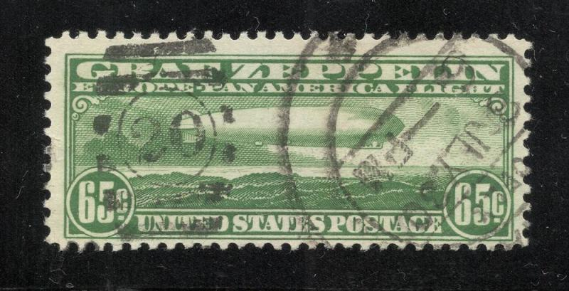 United States #C13 Green Zeppelin - Used