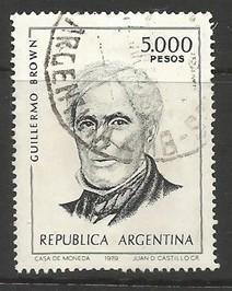 ARGENTINA 1262 VFU R9-146