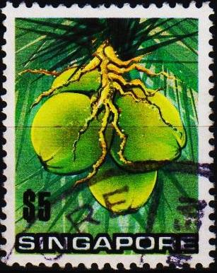 Singapore. 1973 $5 S.G.223 Fine Used