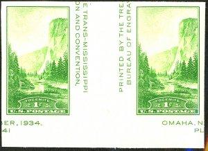 U.S. #769 Unused Gutter pair NH