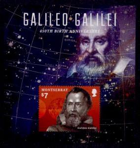 Montserrat Sc# 1344 MNH Galileo Galilei (S/S)
