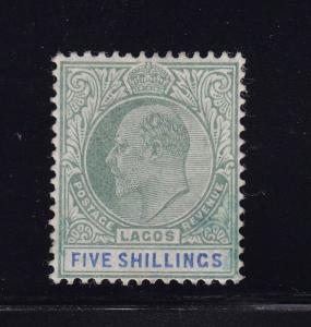 Lagos Scott # 48 VF OG mint previously hinged nice color cv $ 150 ! see pic !