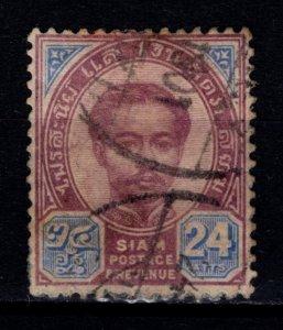 Thailand 1887 King Chulalongkorn Definitive 24a [Used]