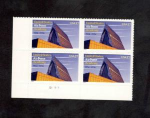 3838 Air Force Academy Plate Block Mint/nh FREE SHIPPING
