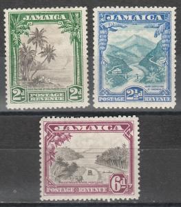 JAMAICA 1932 PICTORIAL SET