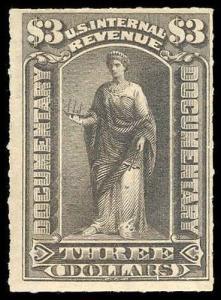 U.S. REV. DOCUMENTARY R174  Mint (ID # 75170)