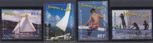 French Polynesia 850-853 MNH (2003)