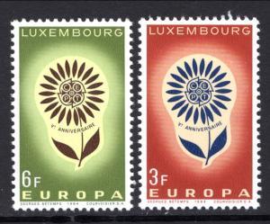 Luxembourg 411-412 Europa MNH VF