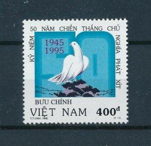 [102960] Vietnam 1995 Birds vögel oiseaux dove end World War II  MNH