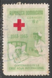 DOMINICAN REPUBLIC 588 VFU NURSE L643-2