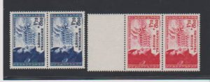 FRANCE #B147-B148  STAMPS  MNH .LOT#F77