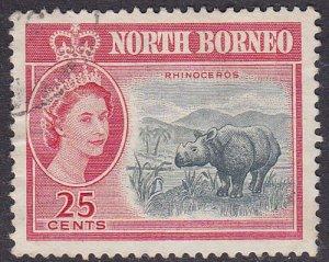 Malaya (North Borneo) 1961 SG398 Used