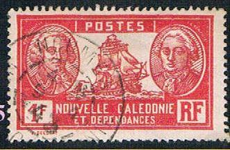 New Caledonia 159 Used Admiral de Bougainville  (BP6015)
