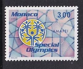 Monaco  #1938   MNH  1995  special olympics