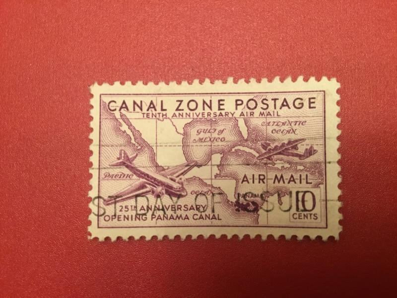 US Canal Zone C16 VF  Used
