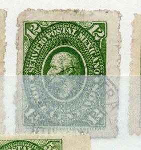 Mexico 1884 early Hidalgo Issue Fine Used 12c. 310961