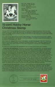 Hobby Horse, Christmas 78 (USCPF1769)