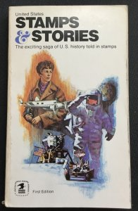 USPS Stamps & Stories 1972 First Edition Toned at top of back page/binder
