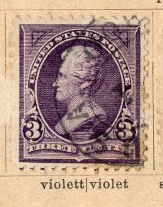 United States 1894-95 Early Issue Fine Used 3c. NW-11594