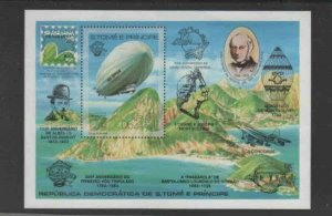 ST. THOMAS & PRINCE #700 1983 BRASILIAN '83 MINT VF NH O.G S/S