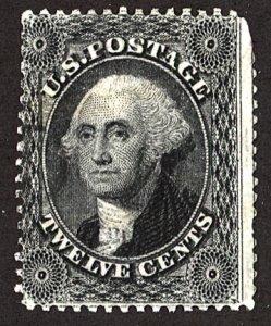 U.S. #36 Used Large Crease, Thin