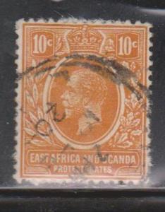EAST AFRICA & UGANDA Scott # 43 Used - KGV Definitive