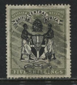British Central Africa 1895 5/ used