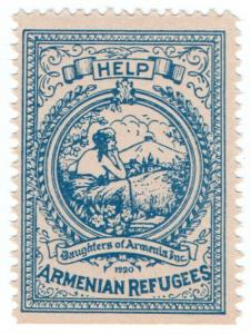 (I.B) US Cinderella : Daughters of Armenia Charity Stamp