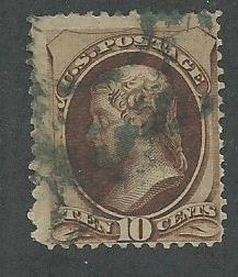 1879 United States Scott Catalog Number 187 Used