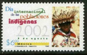 MEXICO 2288, INTERNATIONAL DAY OF INDIGENOUS PEOPLES. MINT, NH. VF.