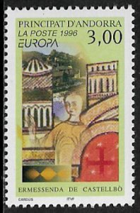 Andorra, Fr. #468 MNH Stamp - 1996 Europa - 40% Cat.